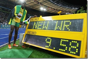 Usain Bolt New World Record